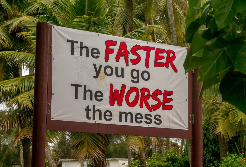 Dit spreekt voor zichzelf,Nikao, Rarotonga, Cook Eilanden (2010)