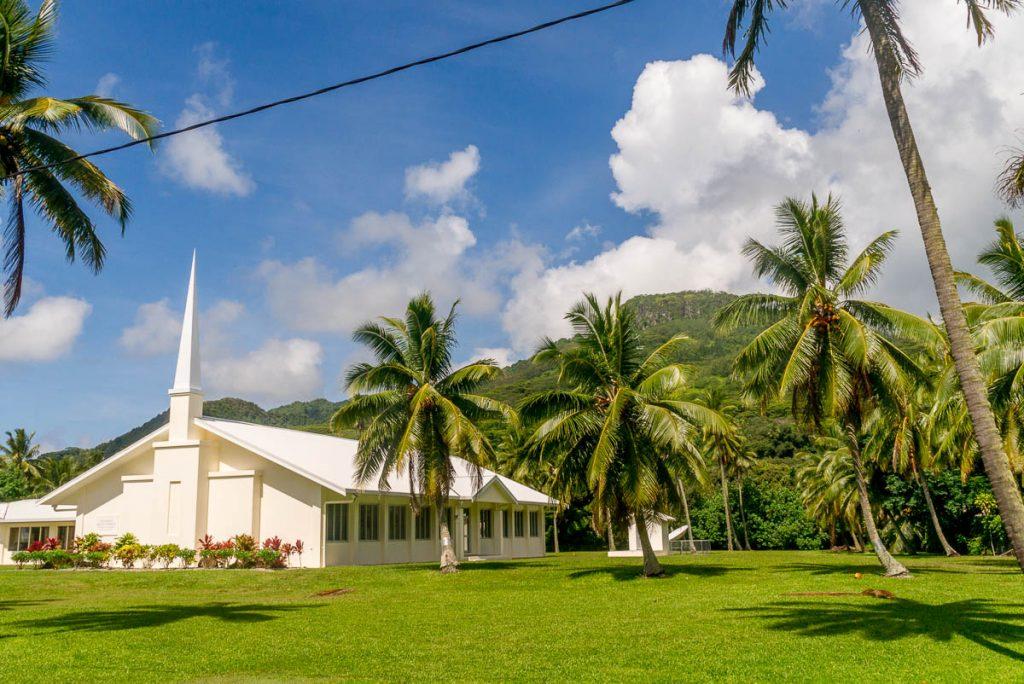 Cook Island Christian Church,Aroa, Rarotonga, Cook Eilanden (2011)