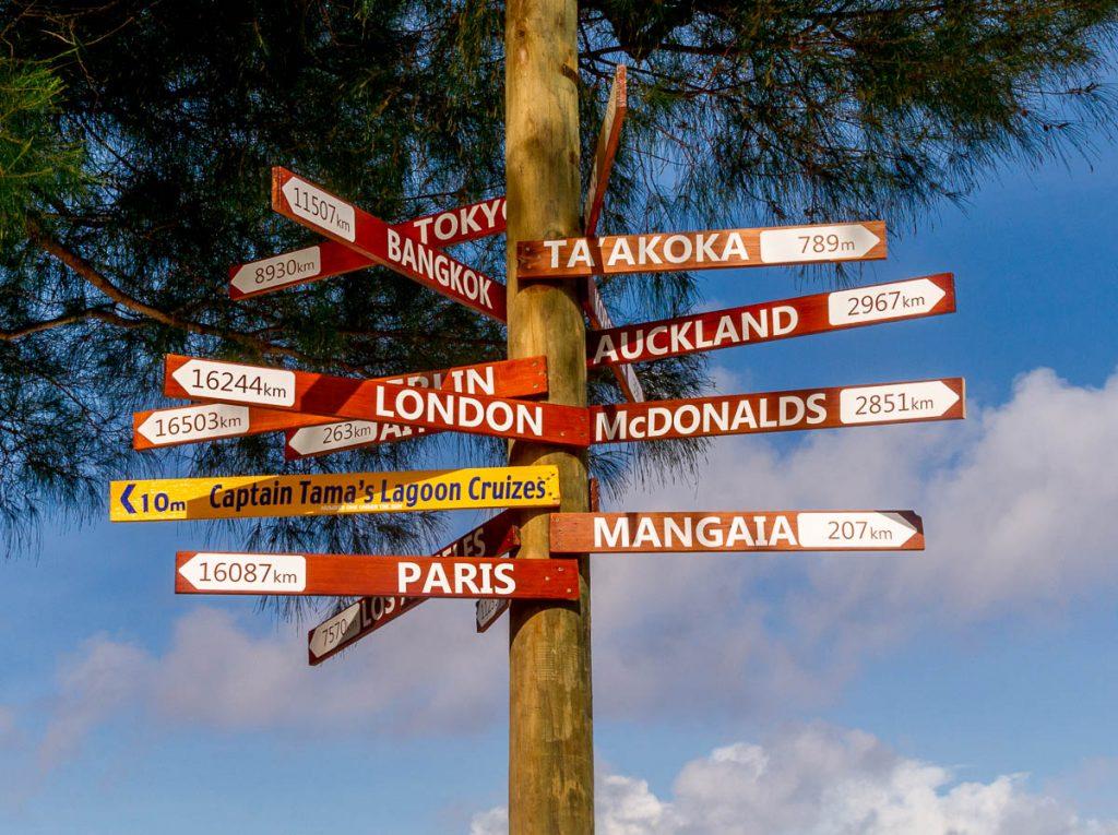 Waar zullen we naar toe?,Muri Beach, Muri, Rarotonga, Cook Eilanden (2011)