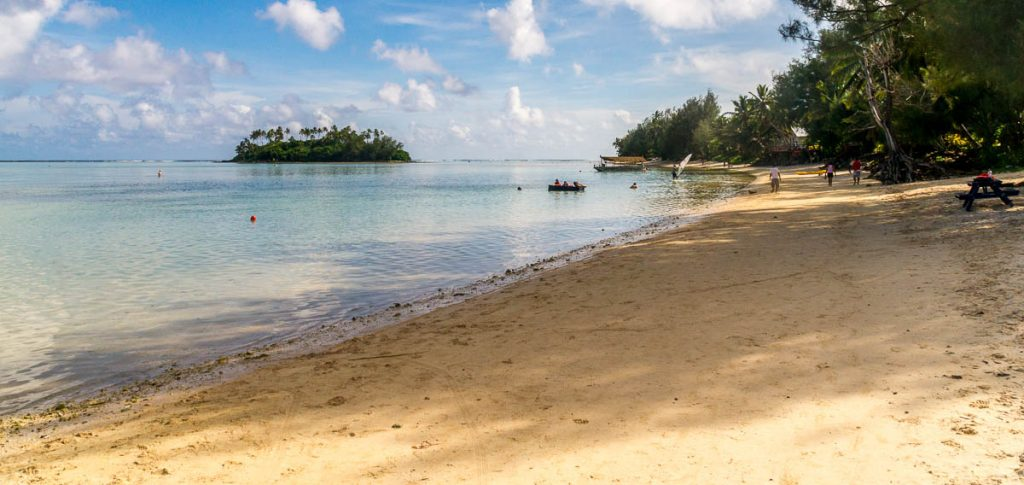 Taakoka Island,Muri Beach, Muri, Rarotonga, Cook Eilanden (2011)