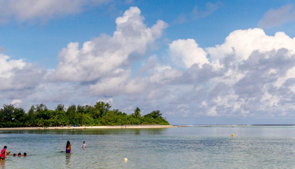 Koromiri Island,Muri Beach, Muri, Rarotonga, Cook Eilanden (2011)