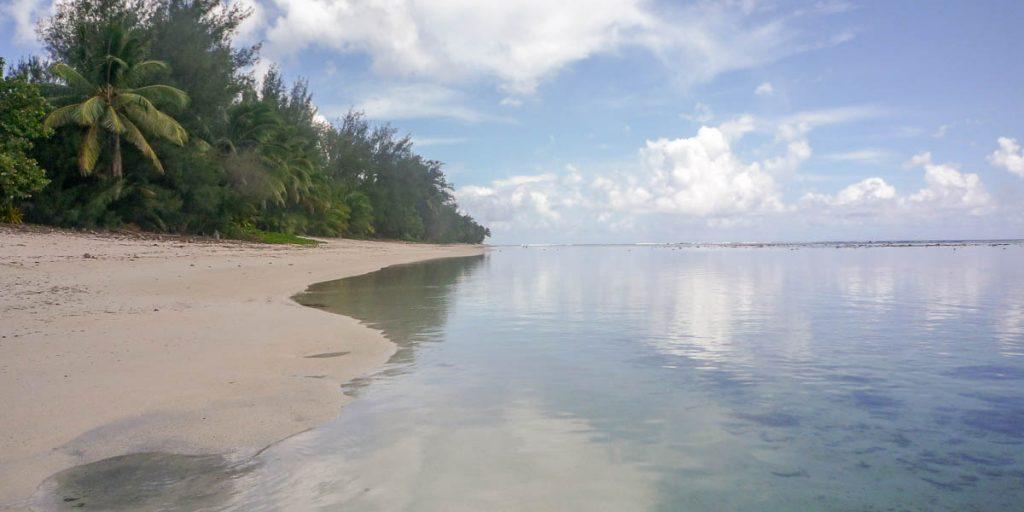 Chillen op het strand