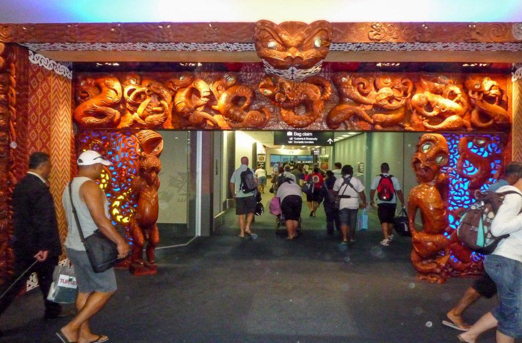 Welkom in Auckland,Auckland Airport, Auckland, Auckland, Nieuw Zeeland (2011)