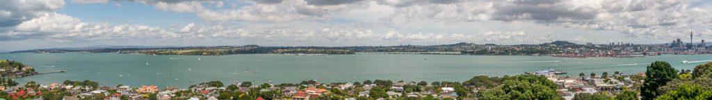 Auckland aan de overkant,Devonport, Auckland, Auckland, Nieuw Zeeland (2011)
