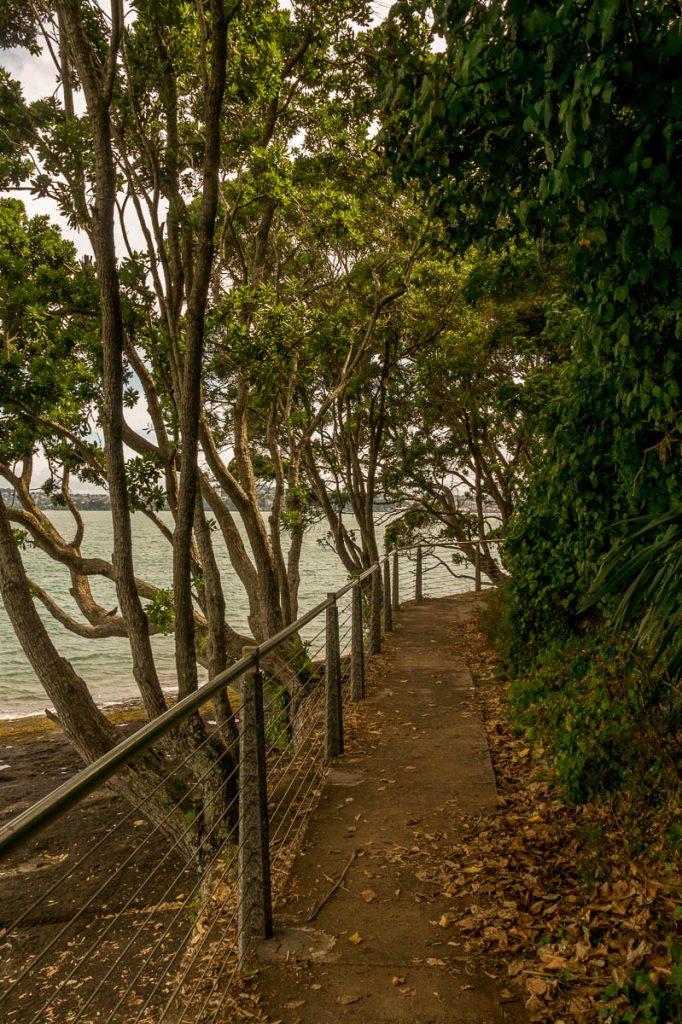 Het pad,Devonport, Auckland, Auckland, Nieuw Zeeland (2011)