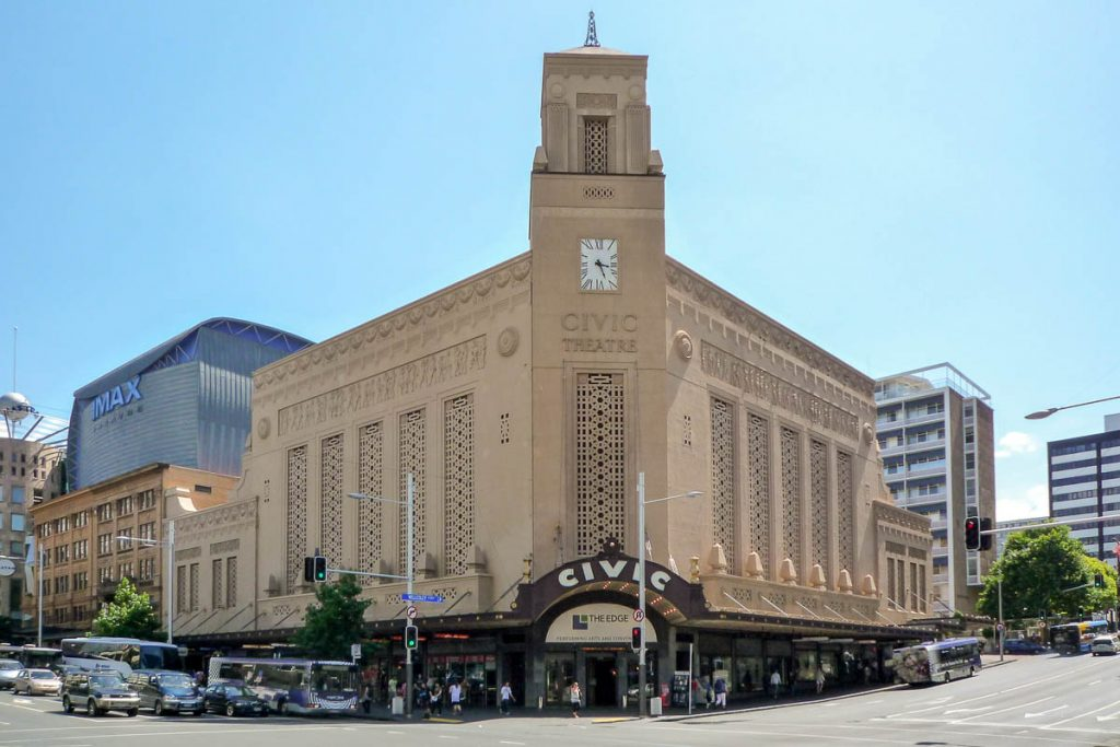 Civic Theatre,Queen Street, Auckland, Auckland, Nieuw Zeeland (2011)