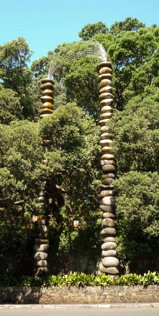 Fontein in Albert Park,Victoria Street, Auckland, Auckland, Nieuw Zeeland (2011)