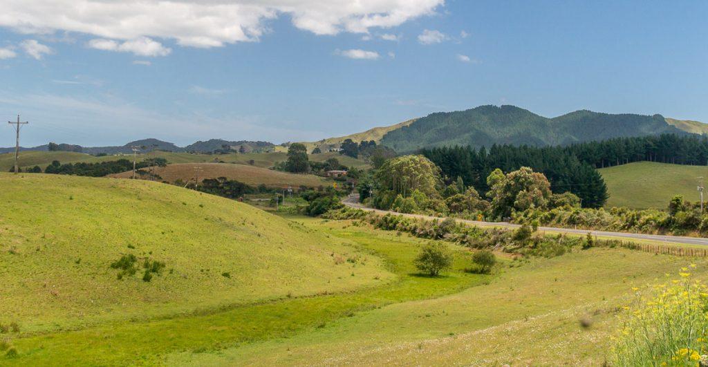 Veel ruimte,Oparau Roadhouse, Oparau, Waikato, Nieuw Zeeland (2011)