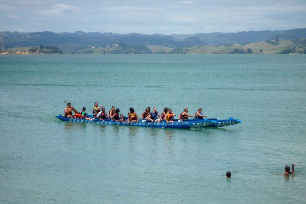 Welkome terug,Maketu Marae, Kawhia, Waikato, Nieuw Zeeland (2011)