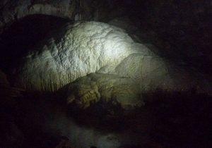 De grootste stalagmiet op het Zuidelijk halfrond