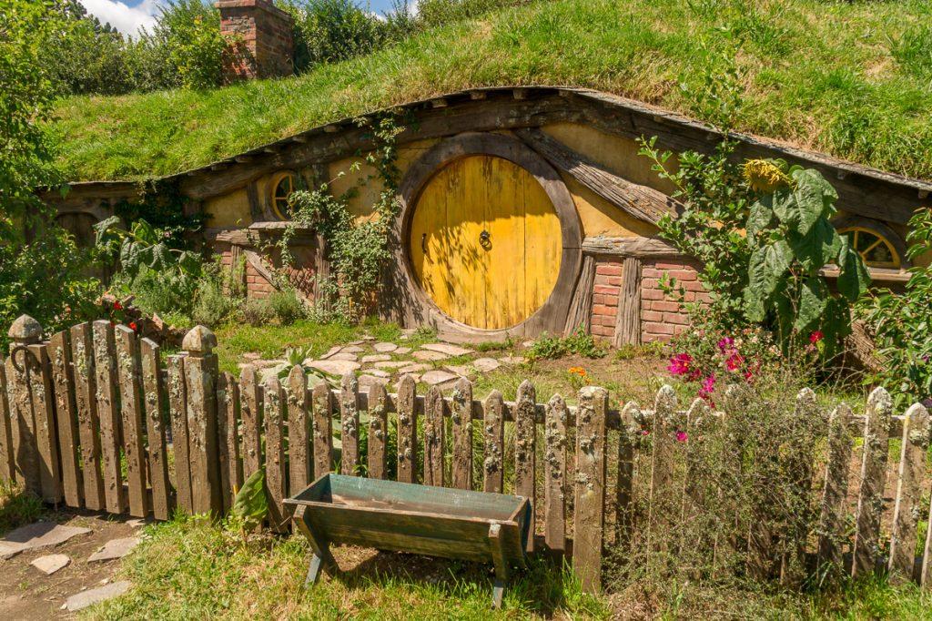 Hobbit hol,Hobbiton, Matamata, Waikato, Nieuw Zeeland (2011)