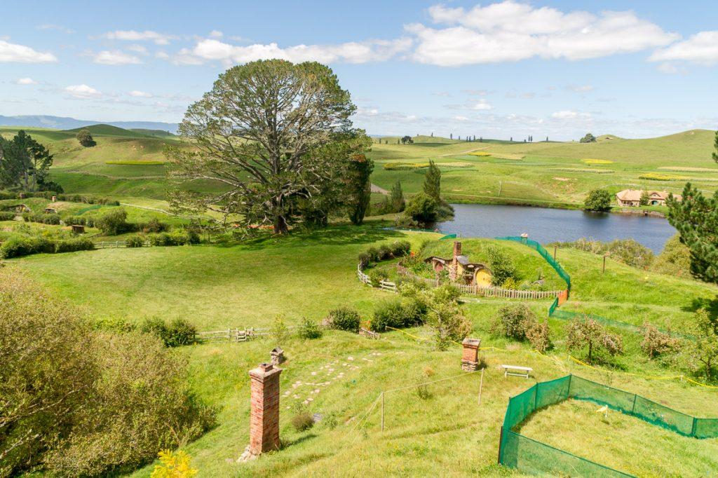 Hobbitstee,Hobbiton, Matamata, Waikato, Nieuw Zeeland (2011)