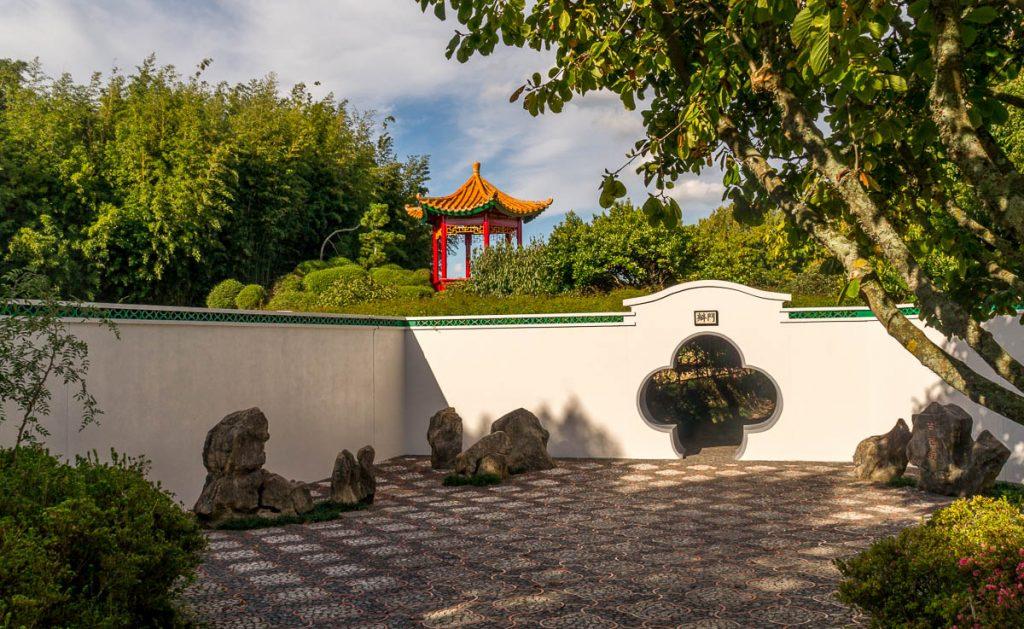 Chinese tuin,Hamilton, Waikato, Nieuw Zeeland (2011)