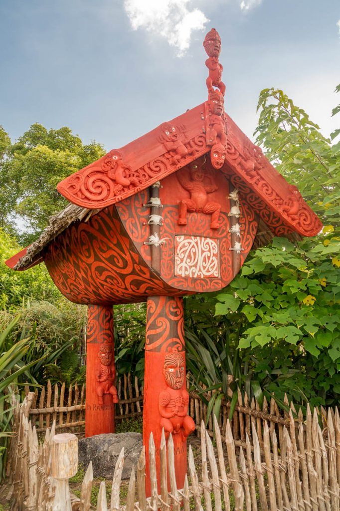Māori tuin,Hamilton, Waikato, Nieuw Zeeland (2011)