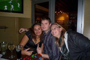 Jenna, Malcolm & ik