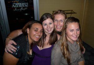 Jenna, Darleen, Kate & ik