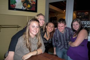 Kate, Jenna, Malcolm, Darleen & ik