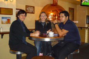 Wendy, Corey & ik