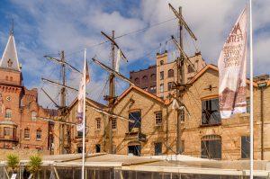 Restaurant met masten