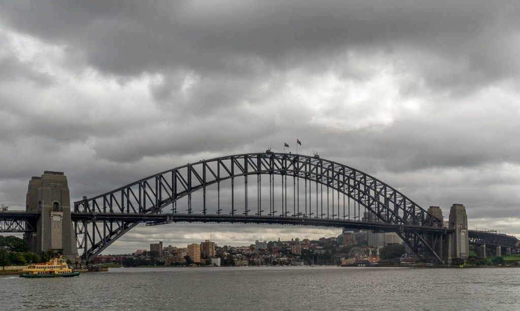 Sydney Harbour Bridge,Circular Quay, Sydney, New South Wales, Australië (2011)