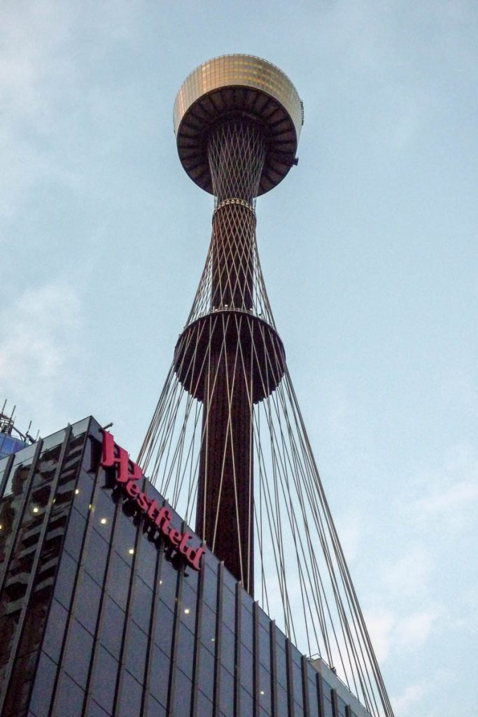 Westfield Tower,Pitt Mall Street, Sydney, New South Wales, Australië (2011)