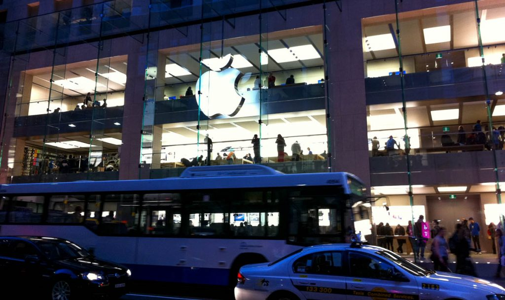 Apple Store,Sydney, New South Wales, Australië (2011)