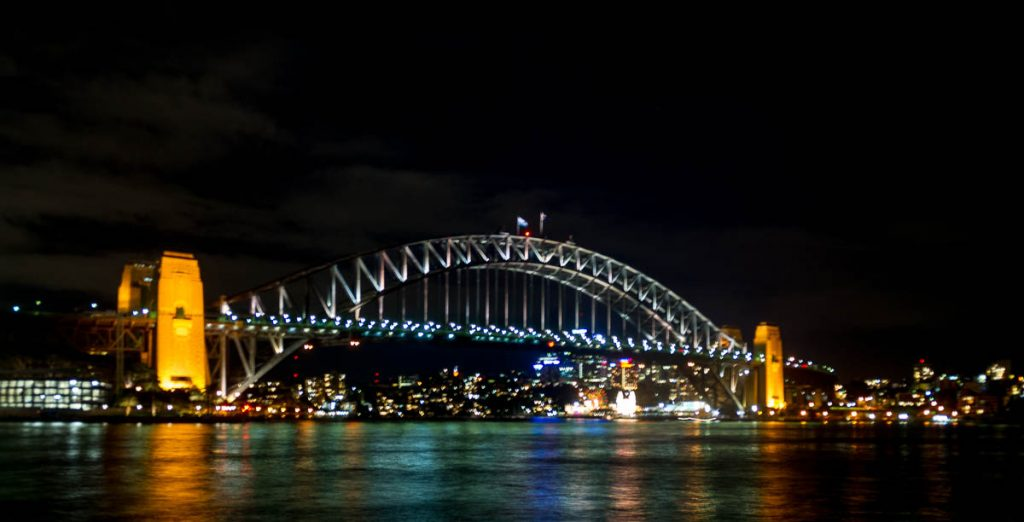 Sydney Harbour Bridge,Sydney Harbour, Sydney, New South Wales, Australië (2011)
