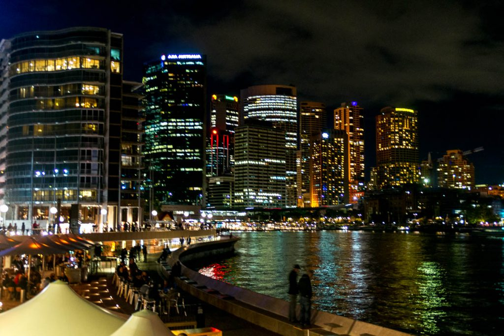 Lichtjes,Sydney Harbour, Sydney, New South Wales, Australië (2011)