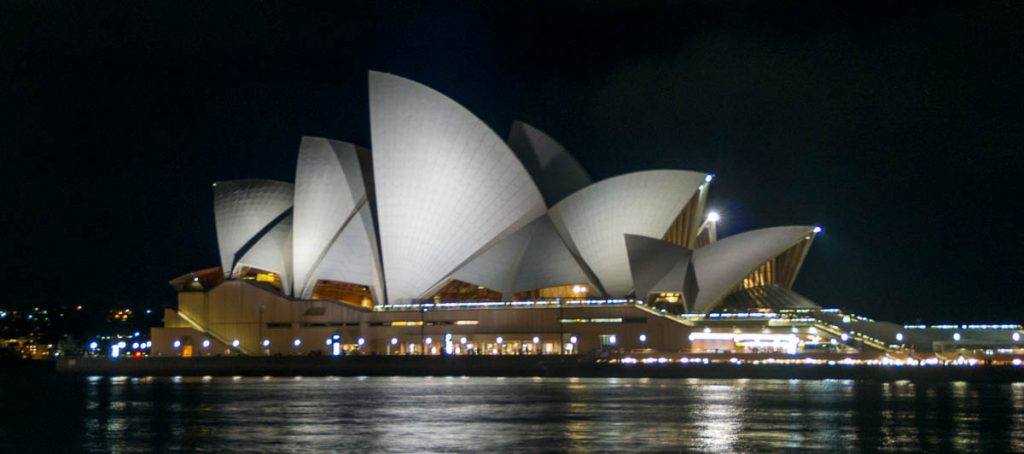 Sydney Opera House,Sydney Harbour, Sydney, New South Wales, Australië (2011)