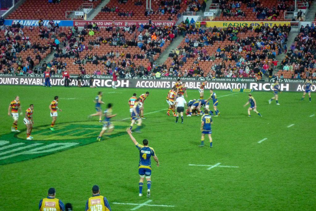 The Chiefs vs. the Hurricanes,Waikato Stadium, Hamilton, Waikato, Nieuw Zeeland (2011)