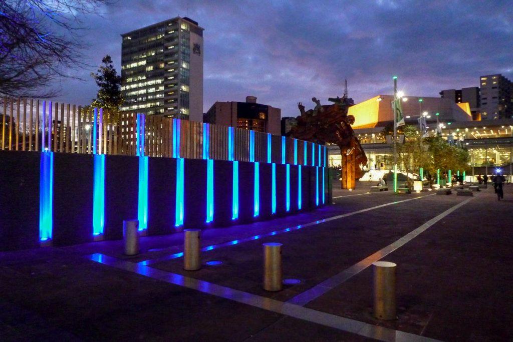 Ziet er leuk uit zo,Aotea Square, Auckland, Auckland, Nieuw Zeeland (2011)