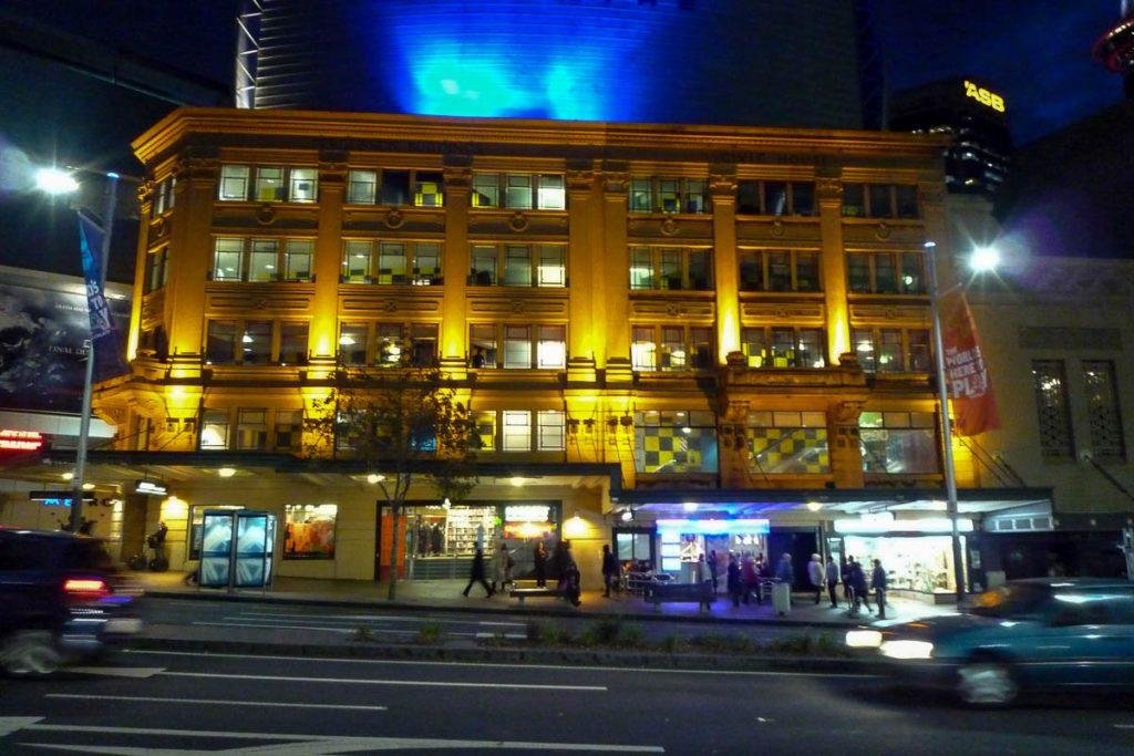 Gebouw,Queen Street, Auckland, Auckland, Nieuw Zeeland (2011)