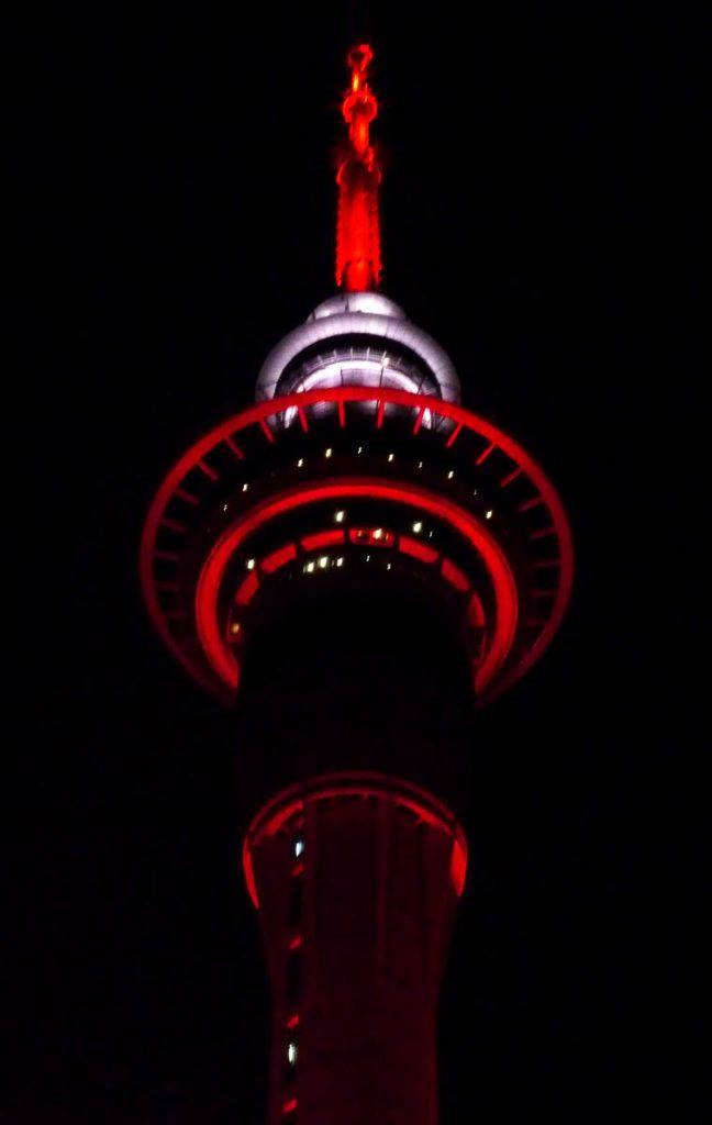 Skytower,Victoria Street, Auckland, Auckland, Nieuw Zeeland (2011)
