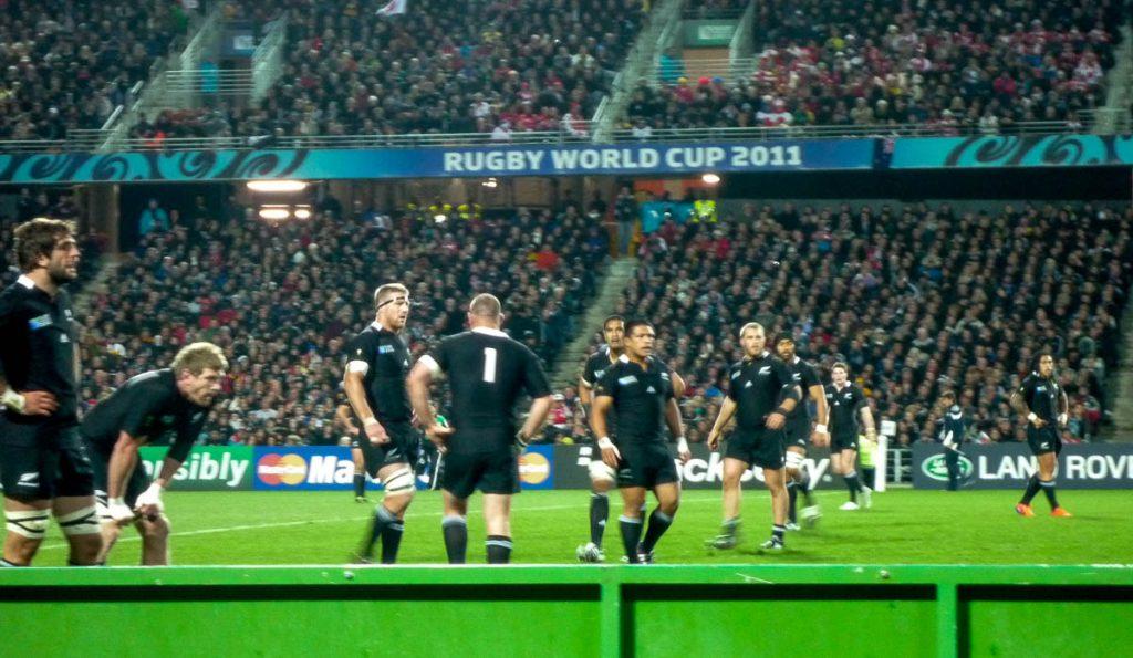 All Blacks!!!!,Waikato Stadium, Hamilton, Waikato, Nieuw Zeeland (2011)