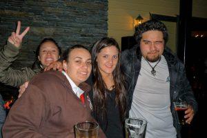 TeRina, Jenna, Jessie en Corey