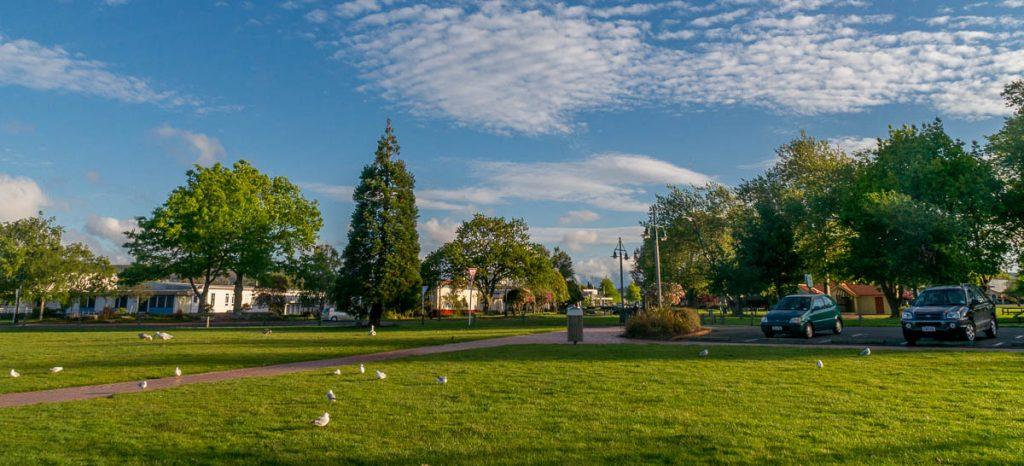 Mooie dag vandaag,Lake Rotorua, Rotorua, Bay of Plenty, Nieuw Zeeland (2011)