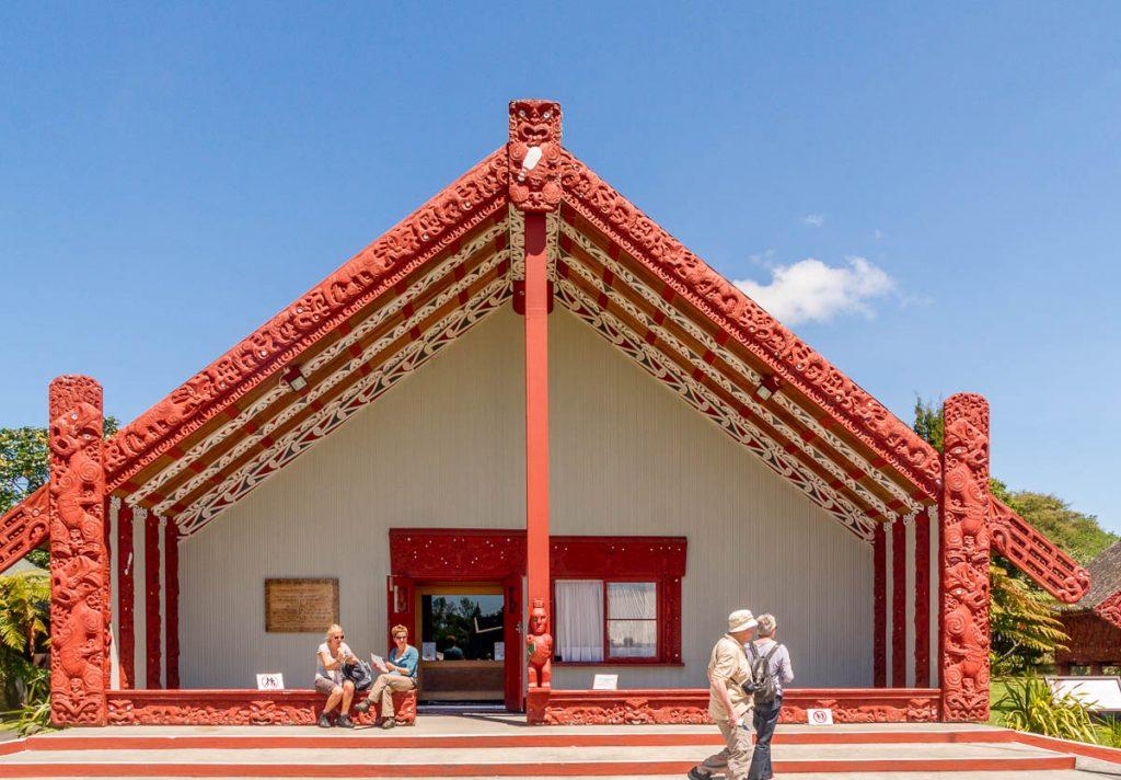 Rotowhio Marae,Te Puia, Rotorua, Bay of Plenty, Nieuw Zeeland (2011)