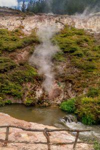 Ook hier geothermische activiteit