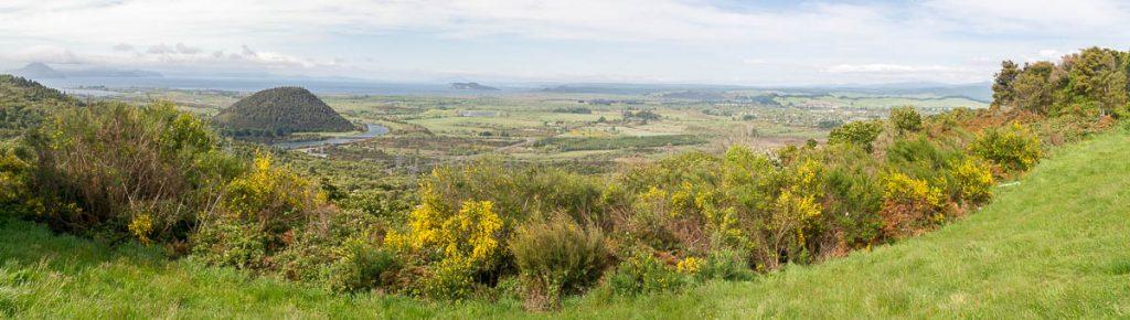 Panorama,Taupō, Waikato, Nieuw Zeeland (2011)