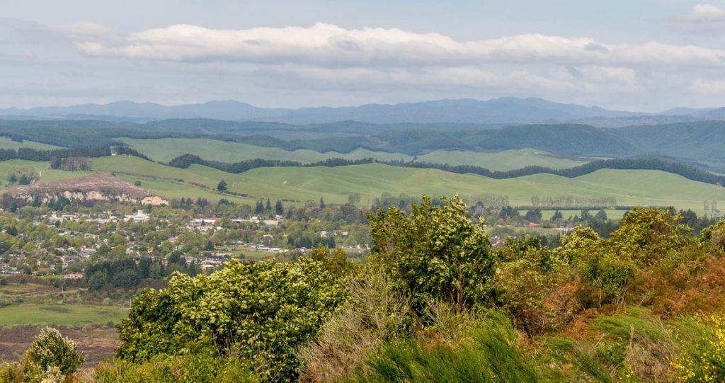 Vallei,Fife Mile Bay, Taupō, Waikato, Nieuw Zeeland (2011)