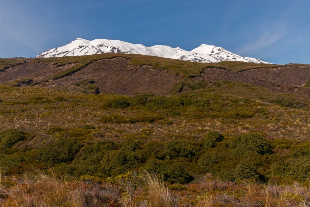 Mount Ruapehu,Taranaki Falls Loop Track, Tongariro National Park, Manawatu-Wanganui, Nieuw Zeeland (2011)