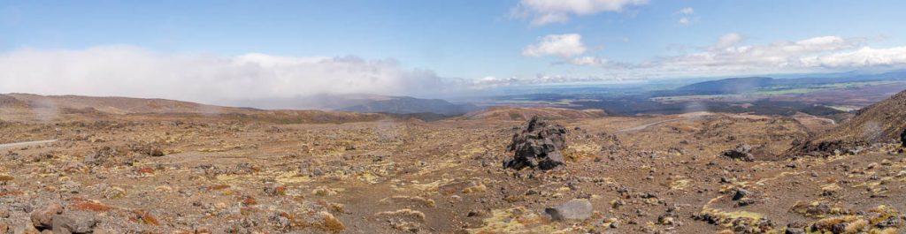 Panorama,Iwikau Village, Tongariro National Park, Manawatu-Wanganui, Nieuw Zeeland (2011)
