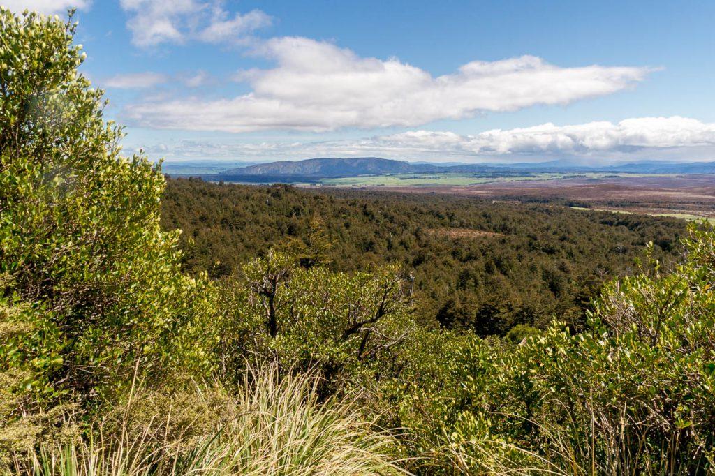 Uitzicht,Tongariro National Park, Manawatu-Wanganui, Nieuw Zeeland (2011)