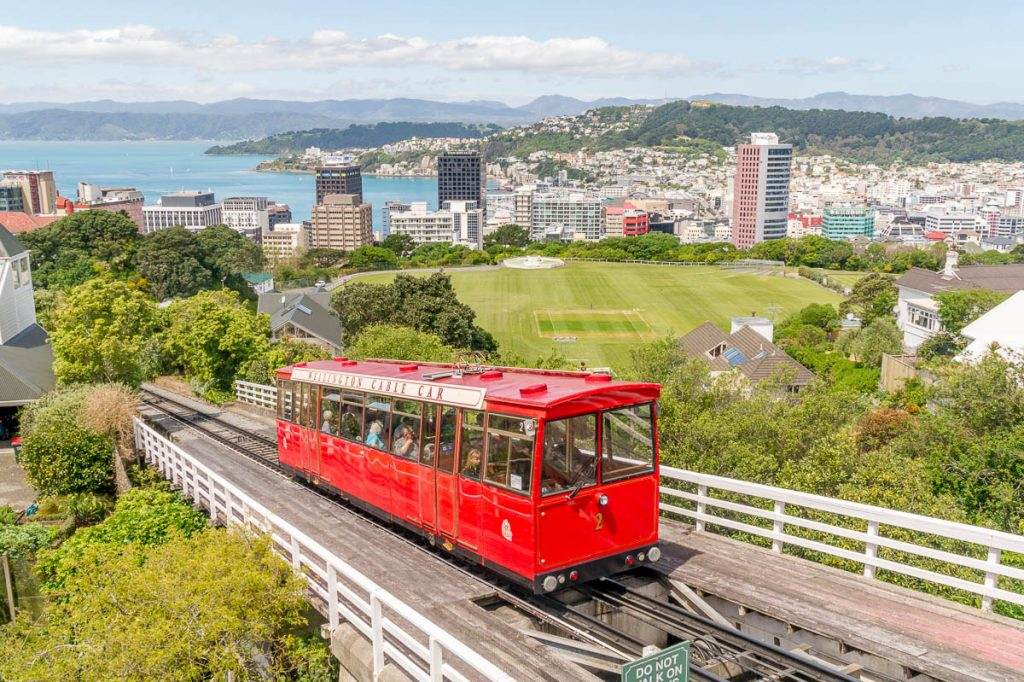 Cable Car,Botanic Gardens, Wellington, Wellington, Nieuw Zeeland (2011)