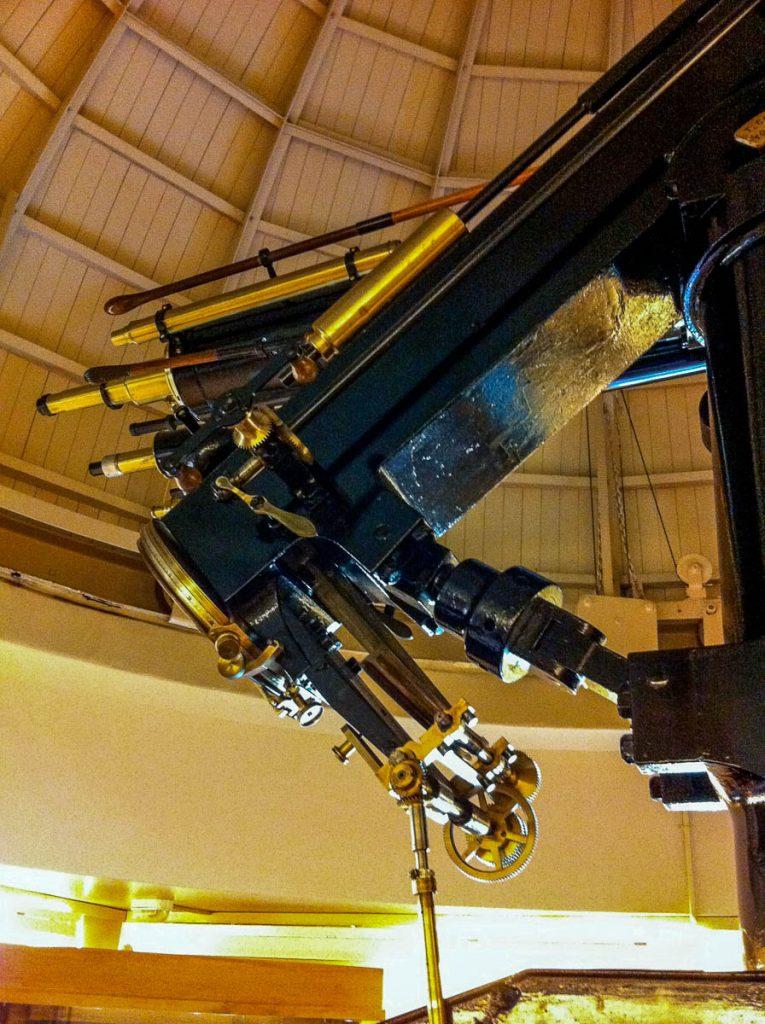 Telescoop,Carter Observatory, Wellington, Wellington, Nieuw Zeeland (2011)