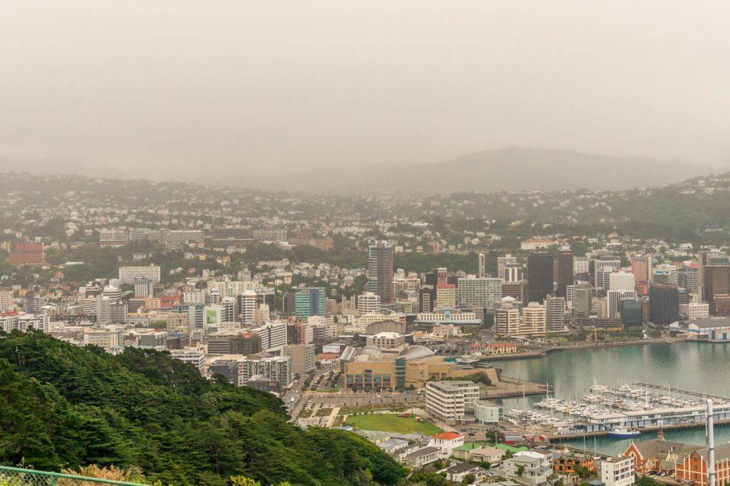 Geen zonnetje vandaag,Mt Victoria Lookout, Wellington, Wellington, Nieuw Zeeland (2011)