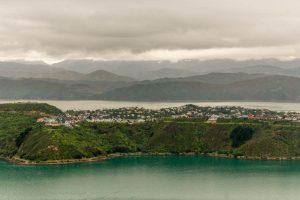 Uitzicht op de Miramar Peninsula