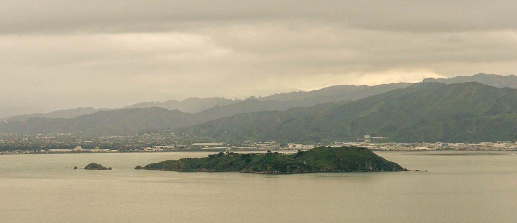Matiu/Somes Island,Mt Victoria Lookout, Wellington, Wellington, Nieuw Zeeland (2011)