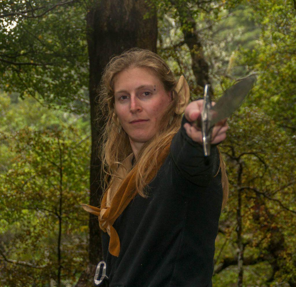 Ik ben een elf!!,Rivendel, Upper Hutt, Wellington, Nieuw Zeeland (2011)
