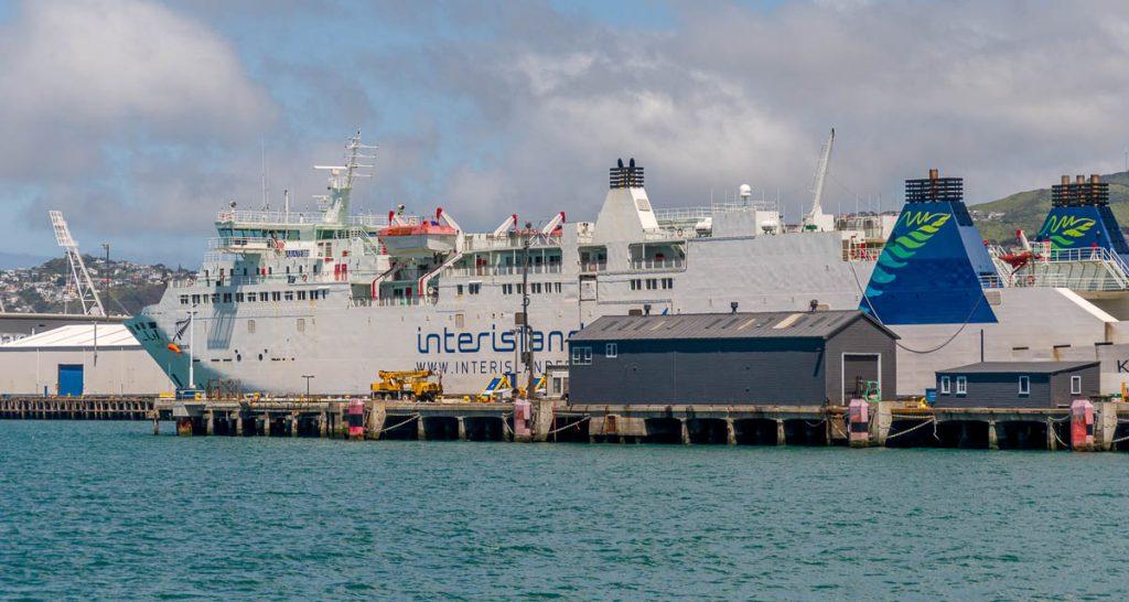 Bijna klaar,InterIslander , Wellington, Wellington, Nieuw Zeeland (2011)